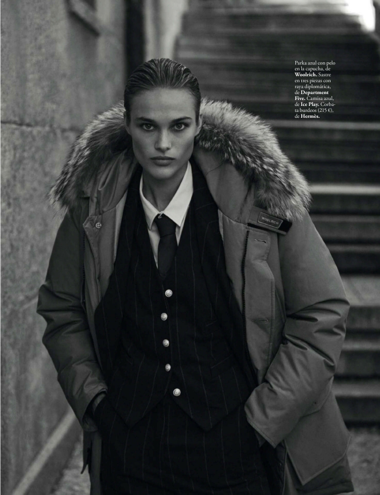 Rozanne for ELLE Spain