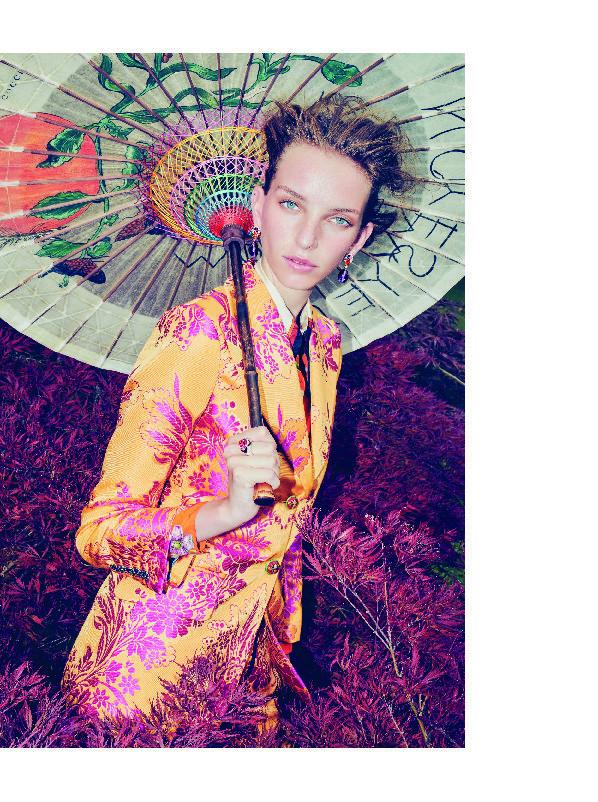 Jamilla for Harpers Bazaar