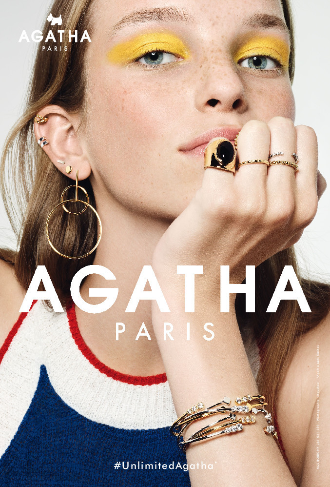 Jamilla for Agatha Paris