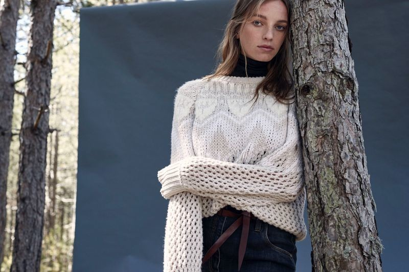 Jamilla for  Brunello Cucinelli