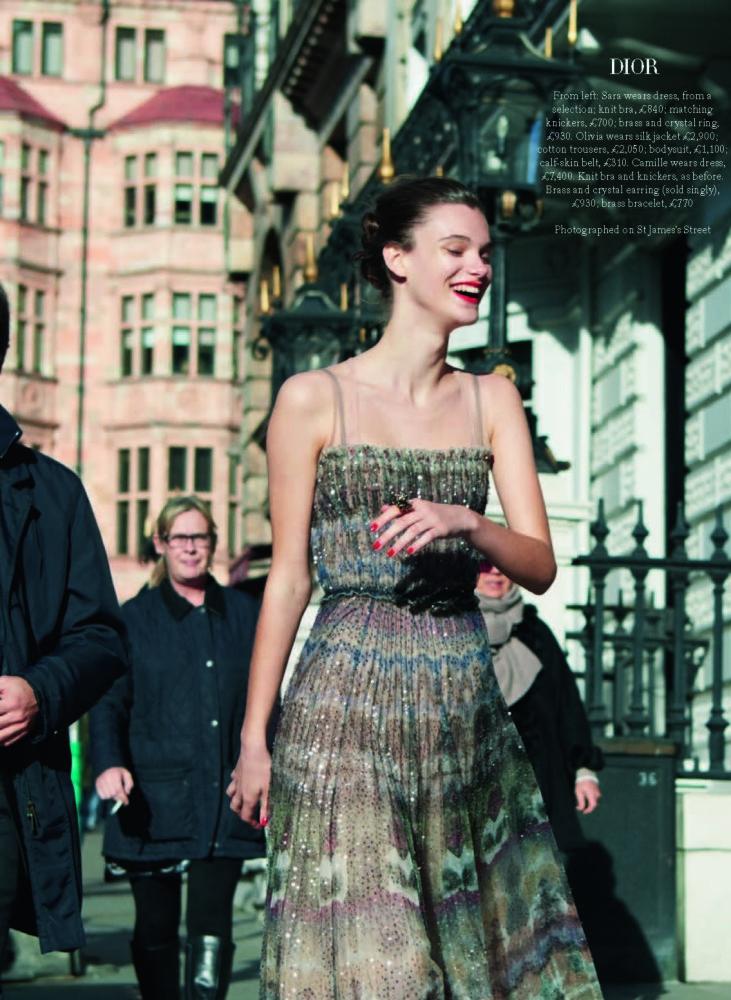 Sara for Harper's Bazaar UK
