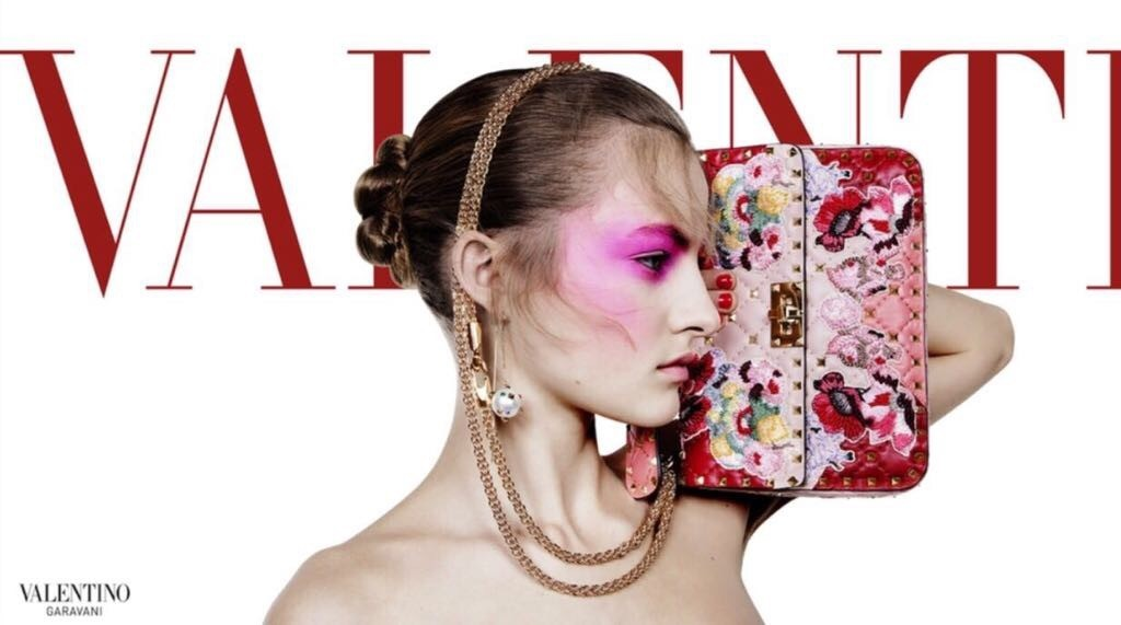 Felice for the Valentino Campaign