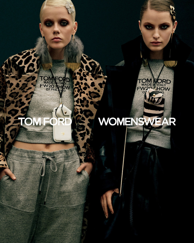 Felice Noordhoff //  TOM FORD Campaign