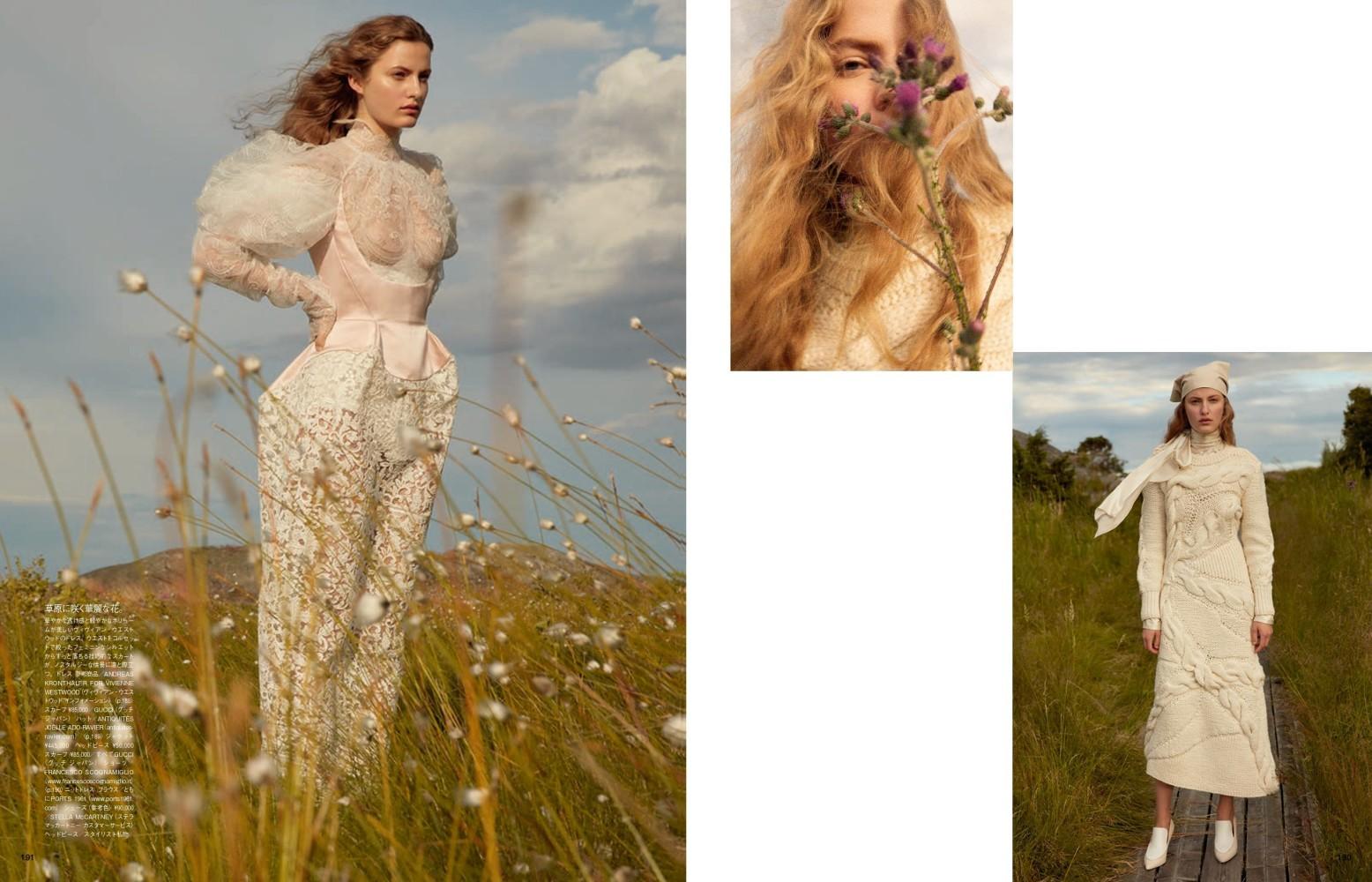 Felice for Vogue Japan