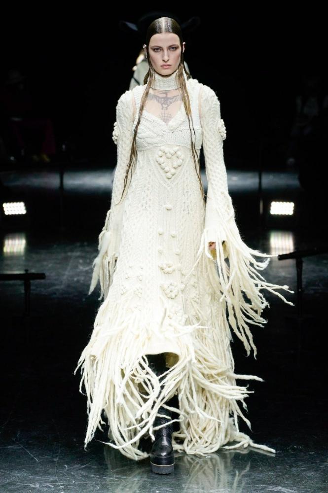 Daimy (debut) & Felice for Jean Paul Gaultier x Sacai