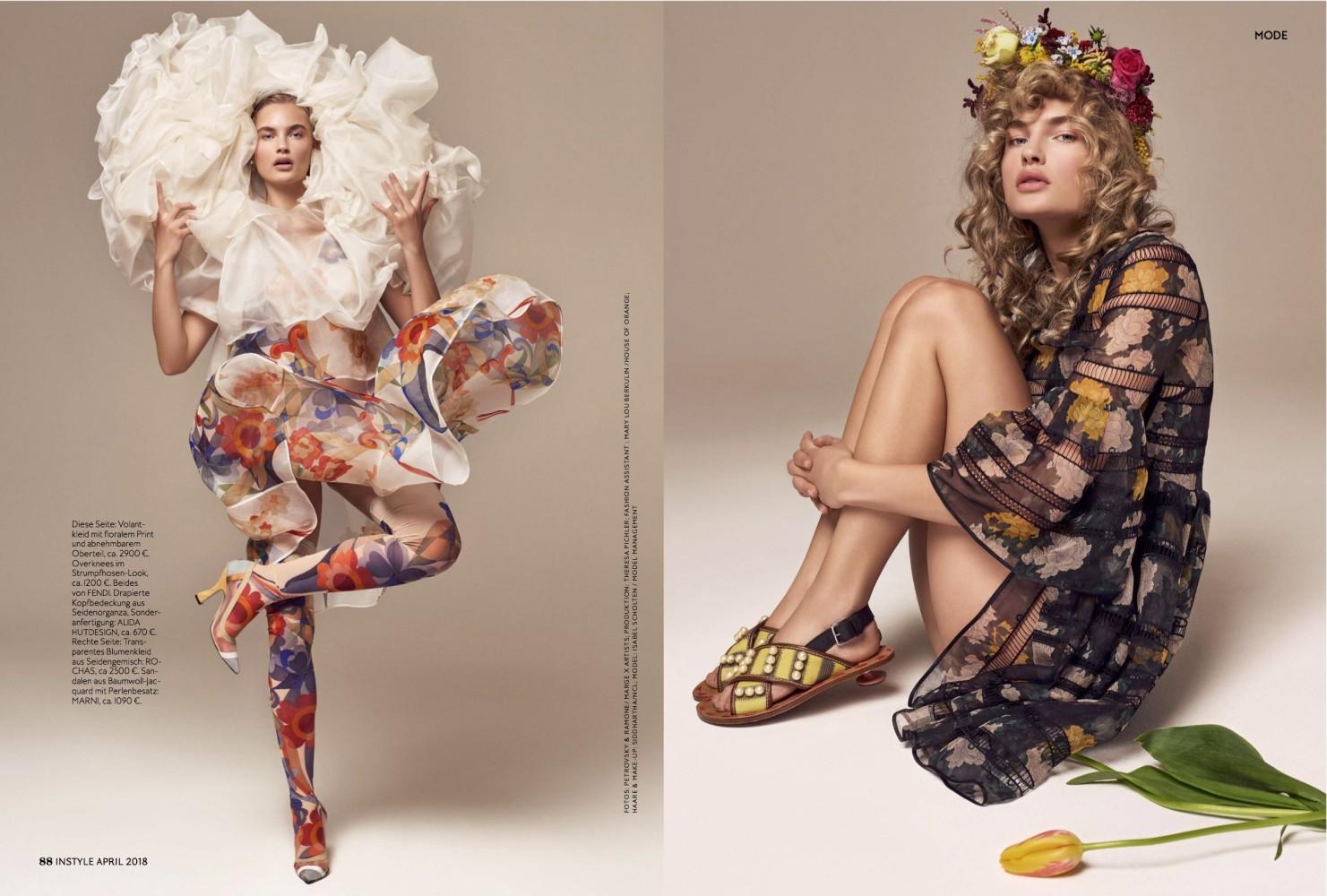 Isabel for Instyle Magazine