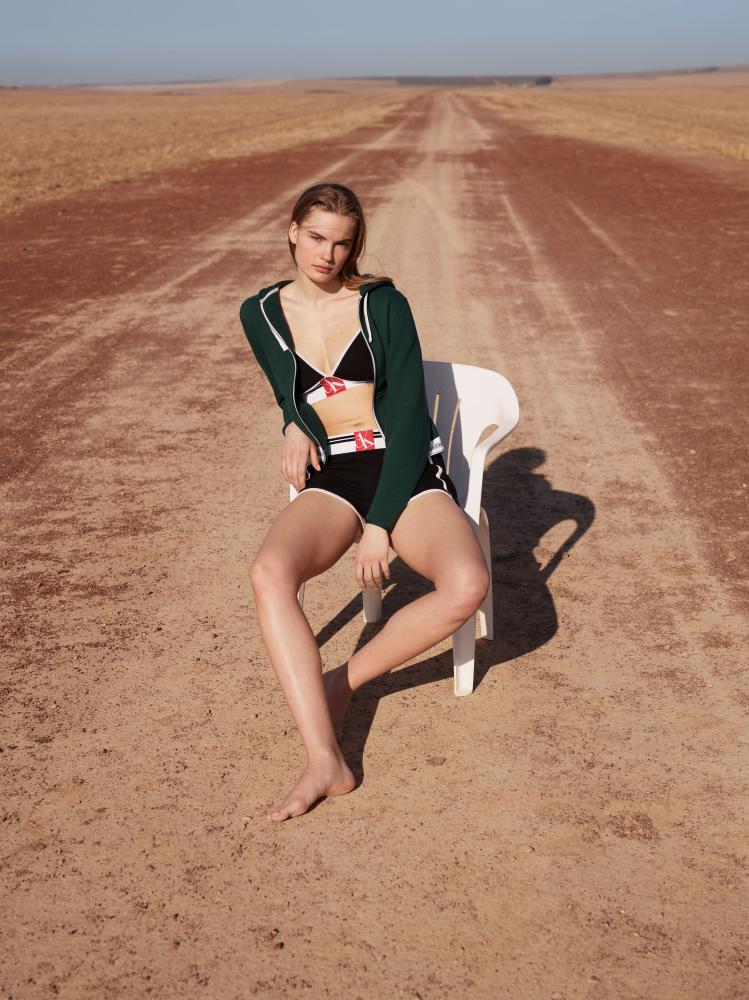 Isabel  Scholten //  Calvin Klein Underwear