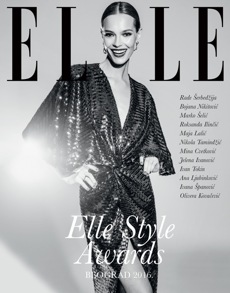 MINA Cvetkovic / ELLE STYLE AWARD / MODEL OF THE YEAR
