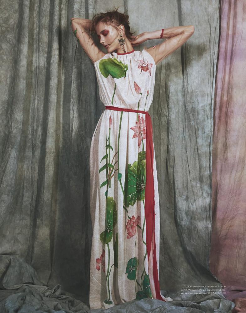 ELENA REI for ELLE Kazahstan 2017