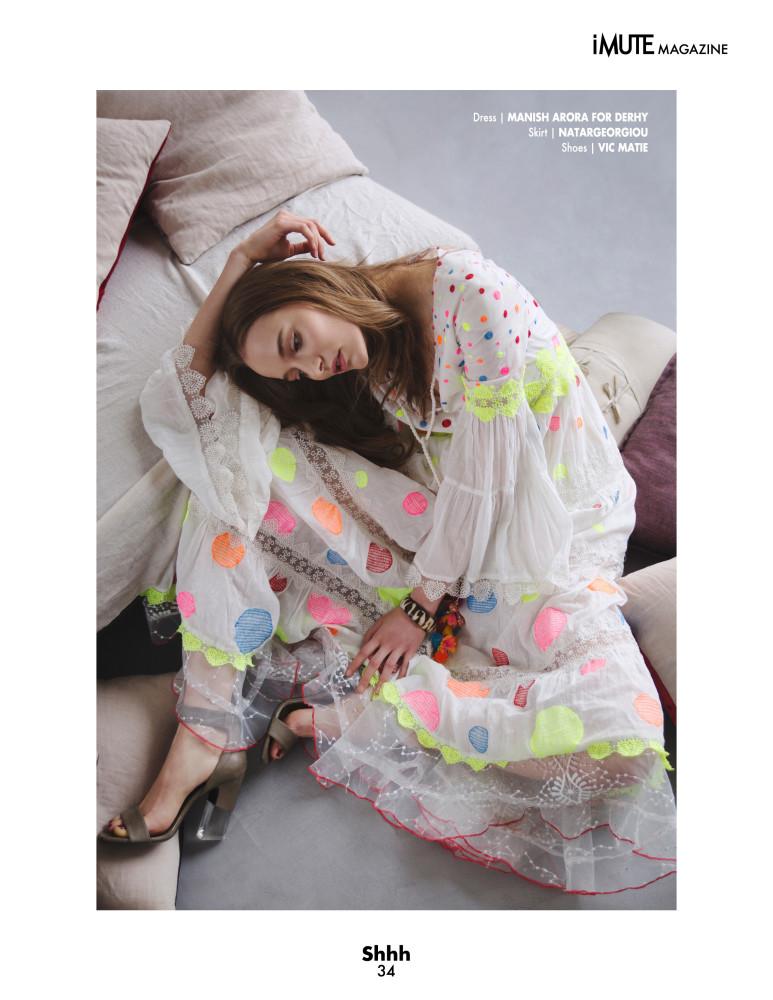 ELENA REI for iMute Magazine Paris 2017