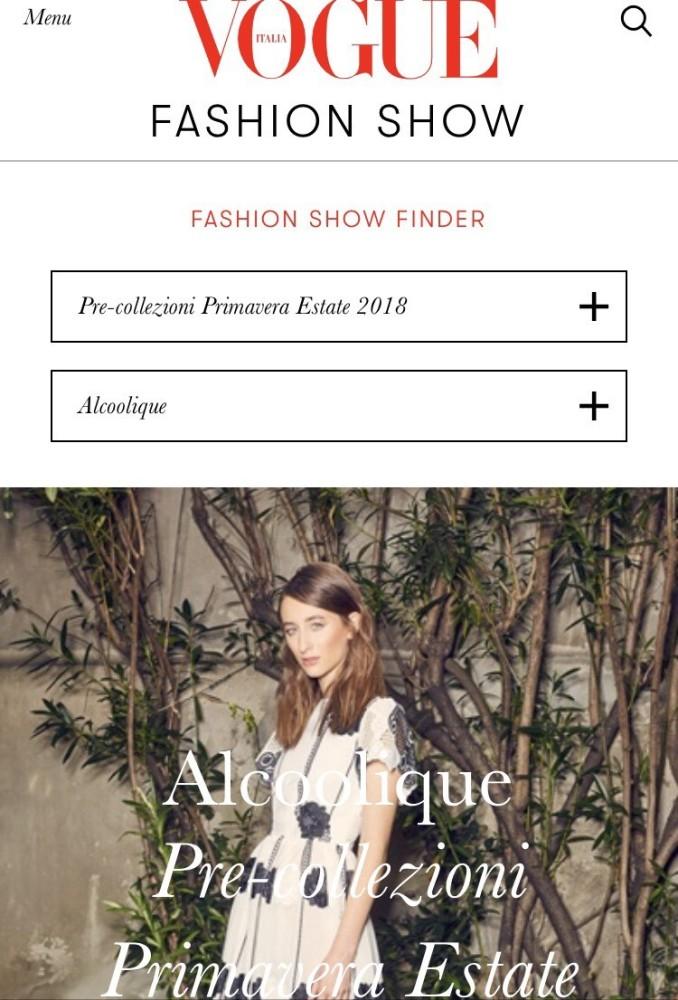MIA & DEA for ALCOOLIQUE, Vogue Italia 2017