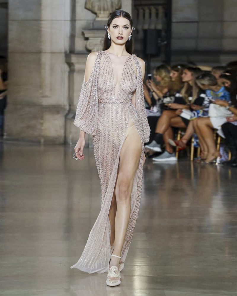 MILI Boskovic for GEORGES Hobeika Haute Couture 2017, Paris