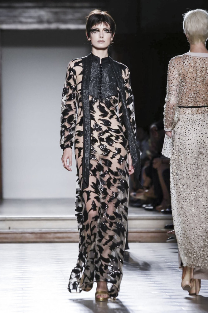 MILI Boskovic for JULIEN FOURNIE Couture 2017, Paris