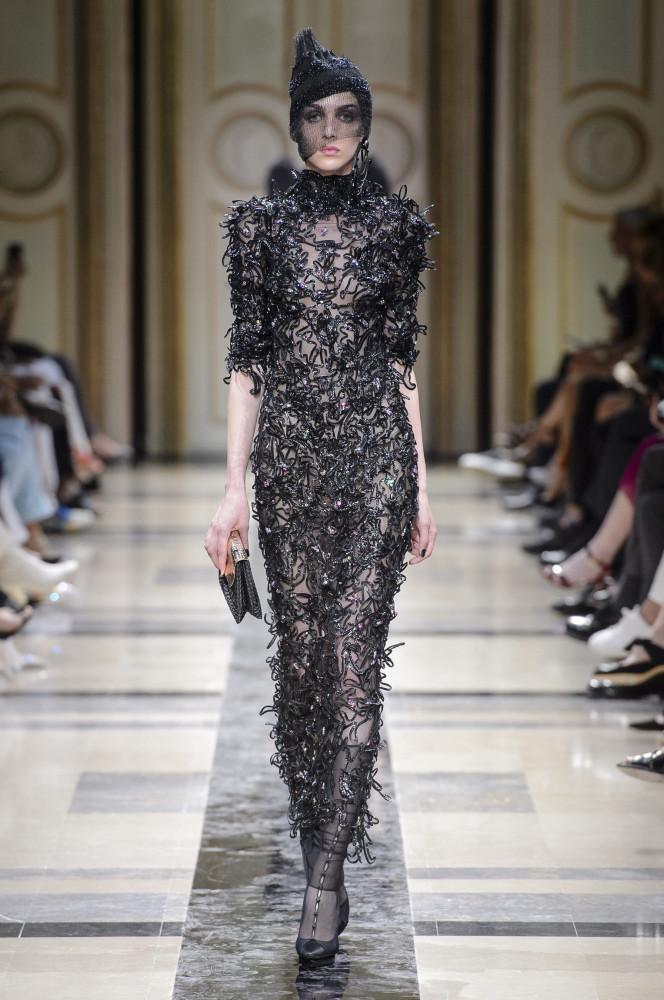 DAN KIC for GIORGIO ARMANI PRIVE Fall 2017 Couture, Paris