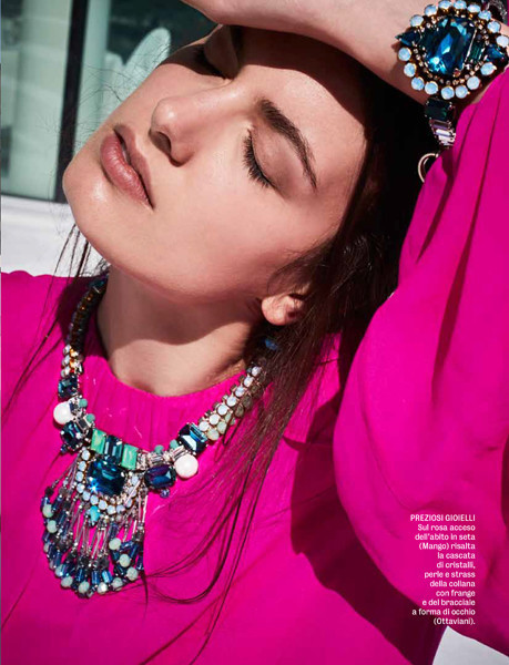 MILI Boskovic for DIVA e DONNA Magazine, Italia 2017