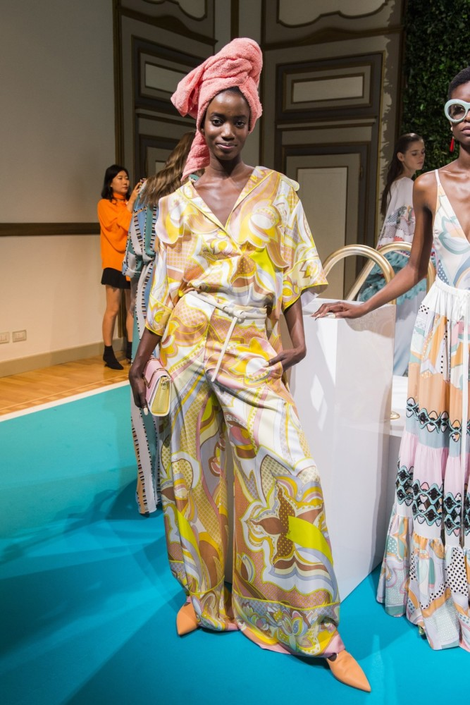 ROSALIE Ndour for EMILIO PUCCI ss18, MILANO