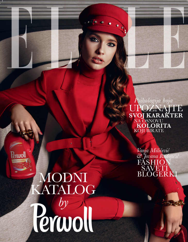 MILICA Tomovic for ELLE, January 2018