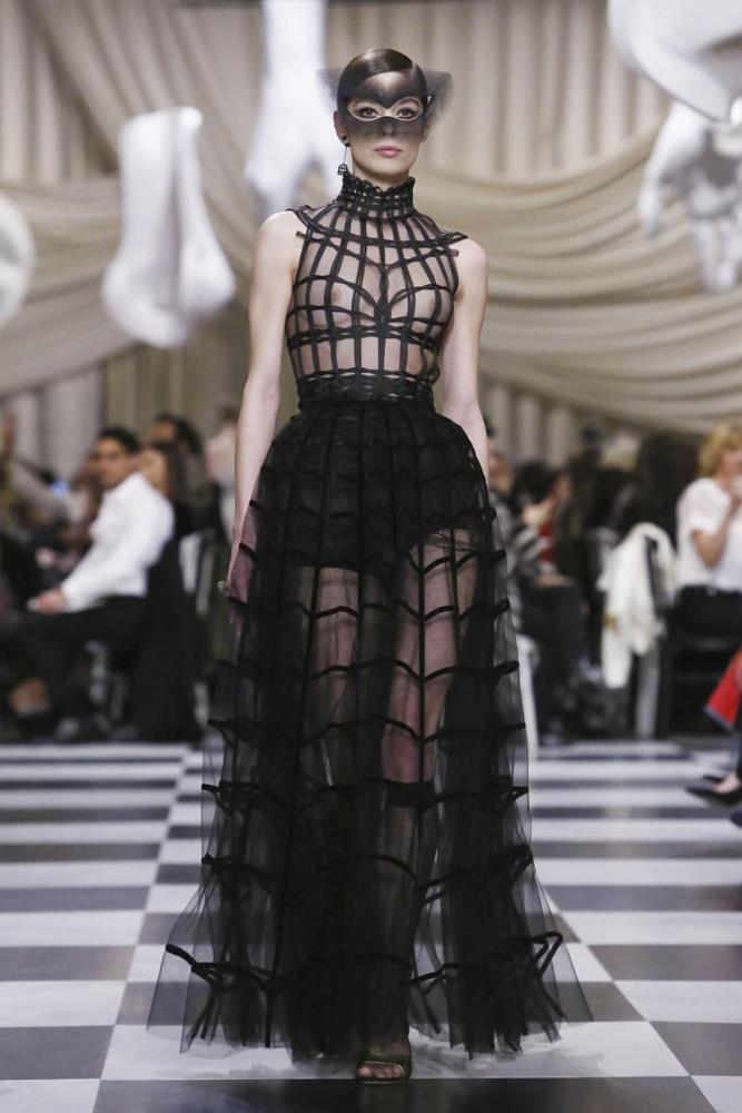 TEODORA Aleksic for DIOR Haute Couture 2018