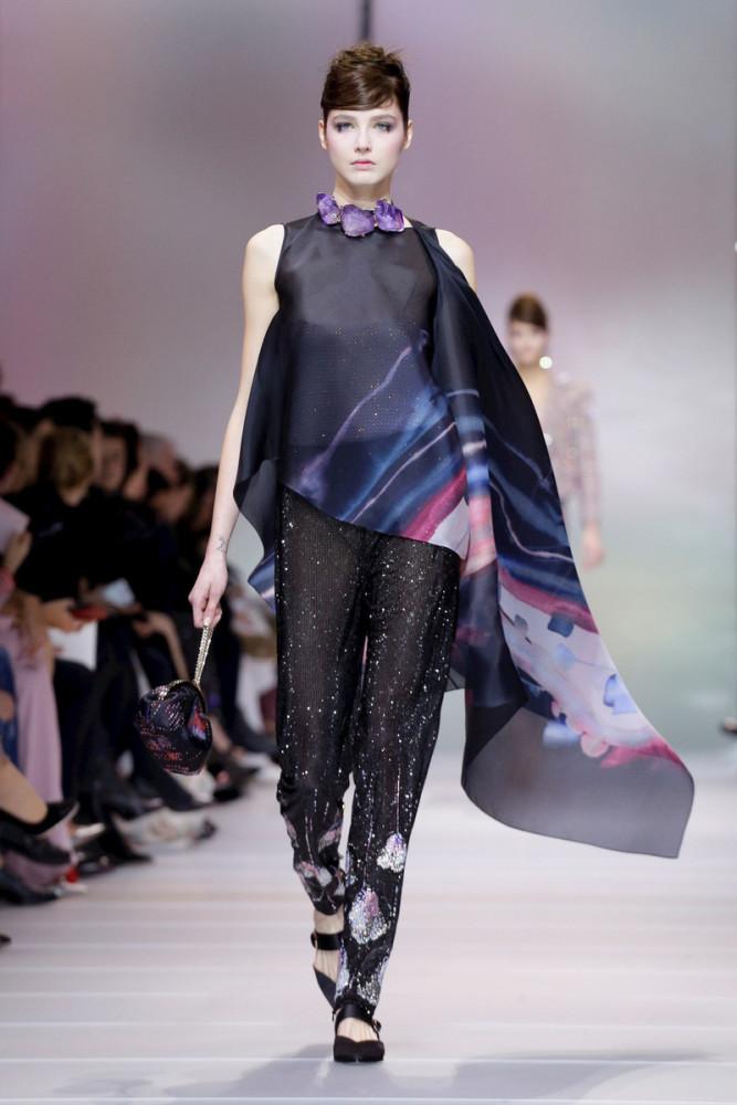 JOANA Krneta for GIORGIO ARMANI Haute Couture 2018