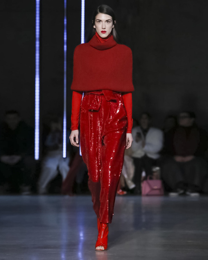 ANA Buljevic for SALLY LAPOINTE, NYFW fall 2018