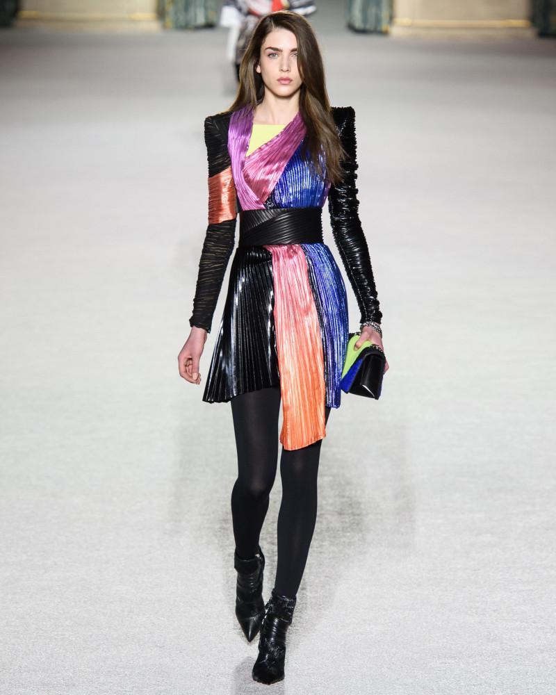 DAN Kic for BALMAIN fall 2018, Paris Fashion Week