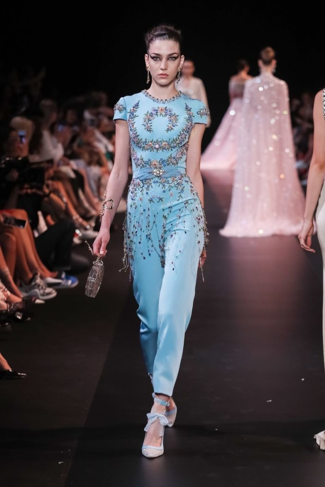 DAN KIC for GEORGES HOBEIKA Couture Fall 2018, Paris