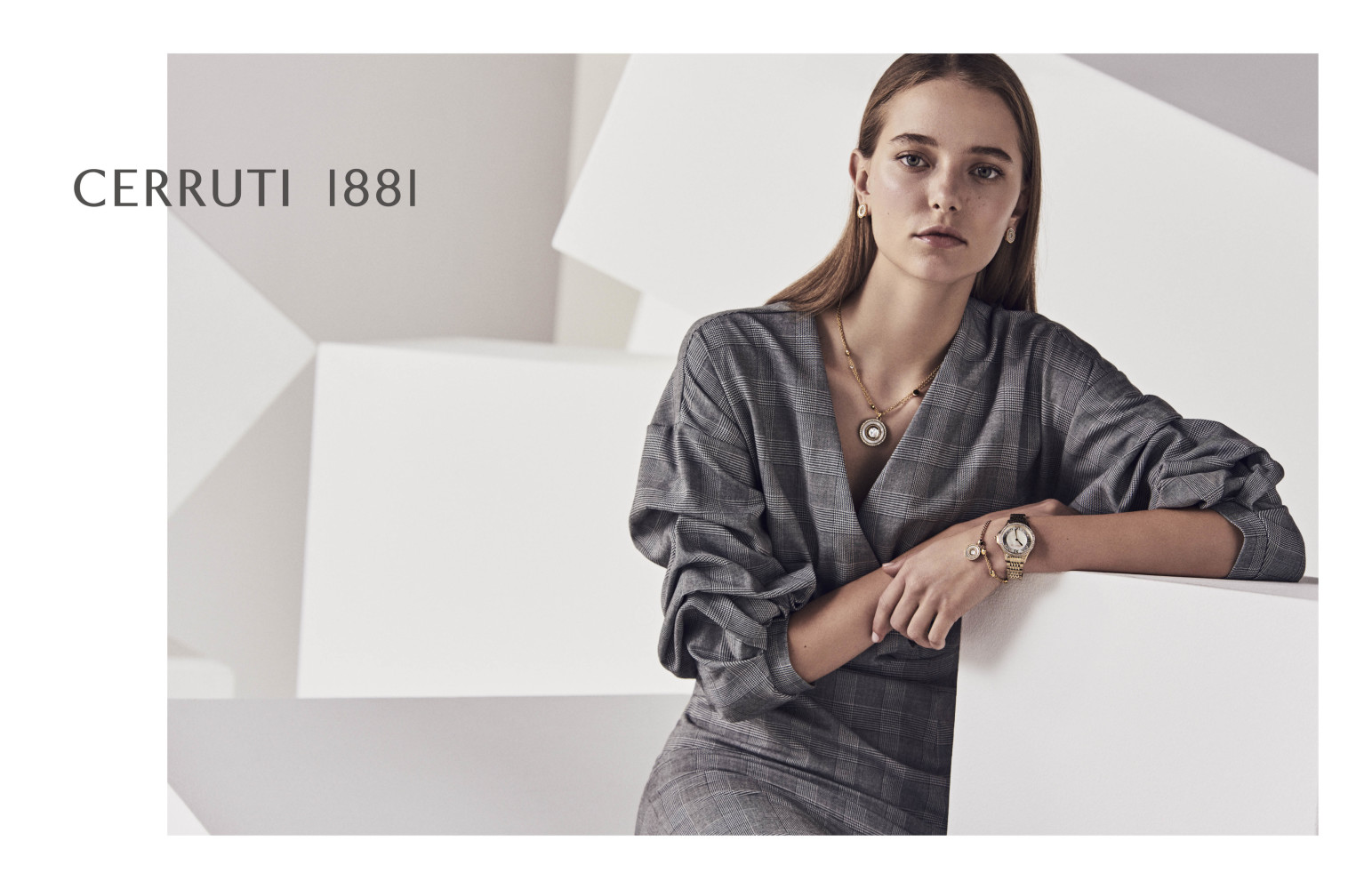 ELENA REI for CERRUTI, Paris 2018