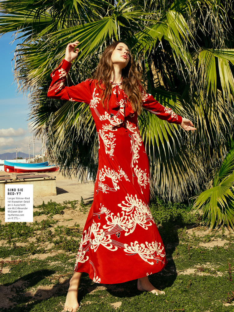 MILICA for WOMAN SUMMER Magazine, Spain