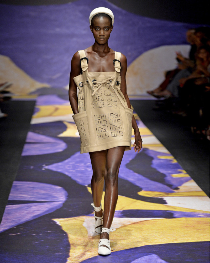 ROSALIE NDOUR for LAURA BIAGIOTTI spring 2019, Milan