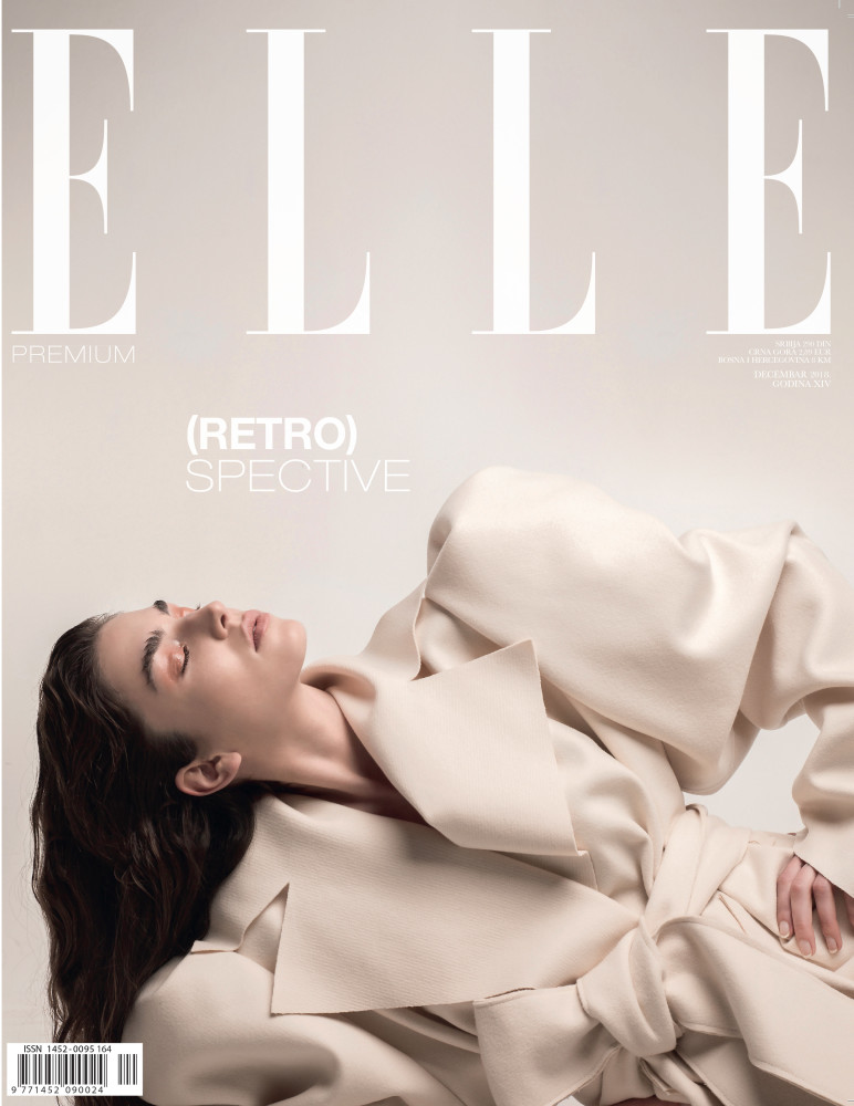 DAN KIC for ELLE  Premium cover story, December 2018