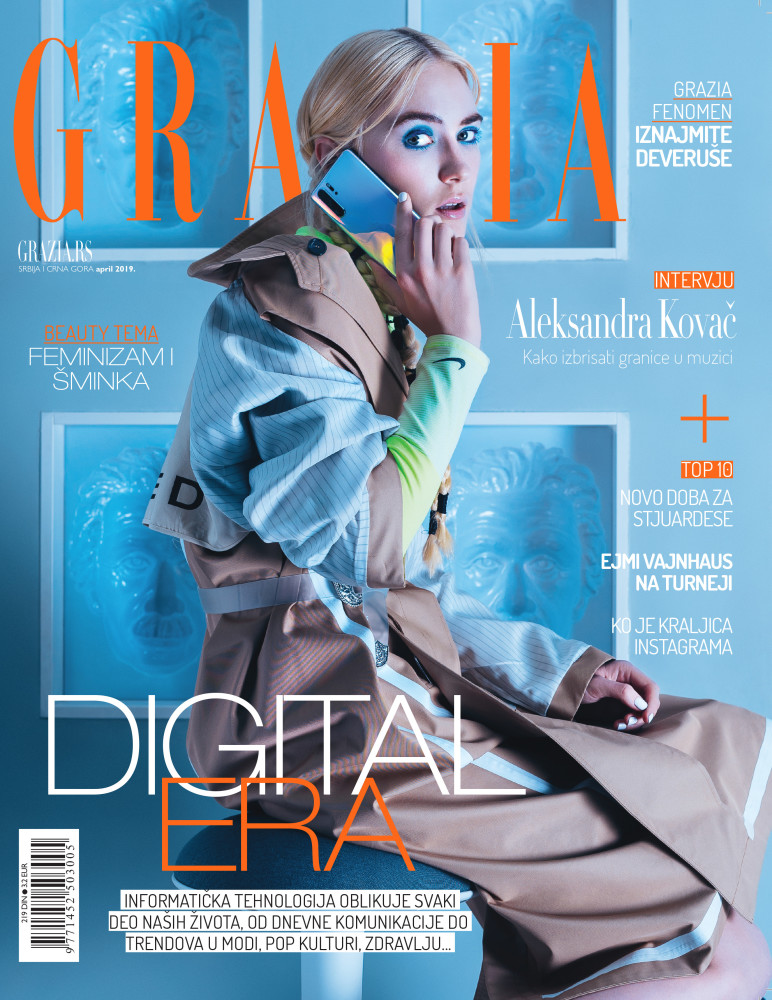 VIVIEN for GRAZIA,  Serbia 2019