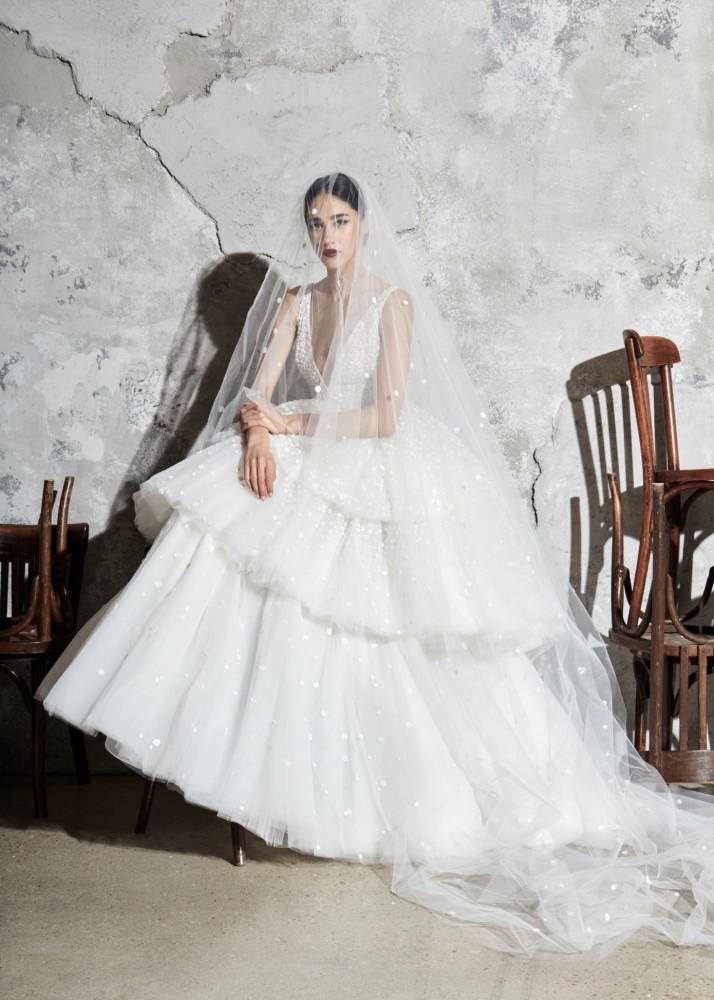 IVANA Pesovic for ZUHAIR MURAD Bridal 2020, Paris