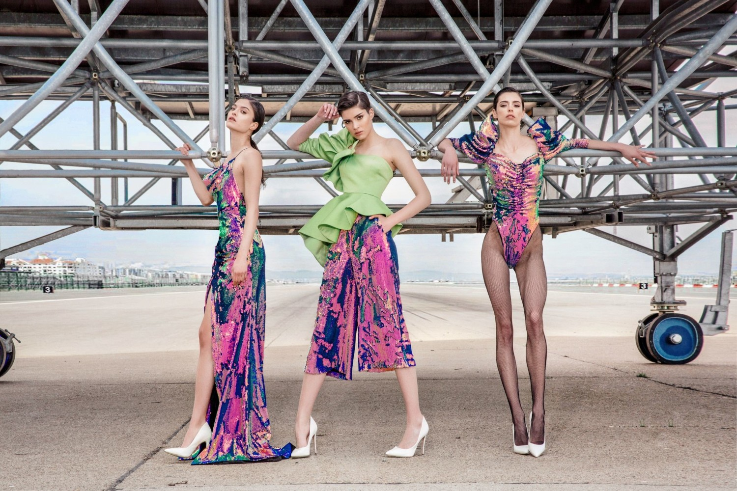 TEO Aleksic, SNEZANA Gasic & BARBARA Tatalovic for MONA limited edition campaign