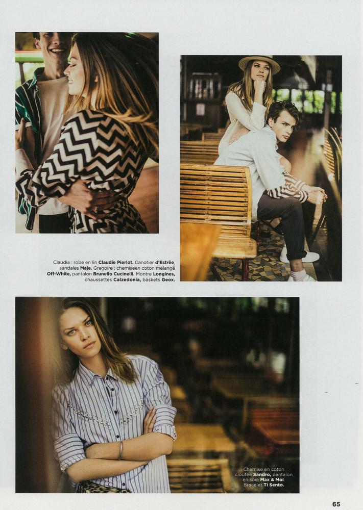 CLAUDIA for GALA Magazine, Paris 2019
