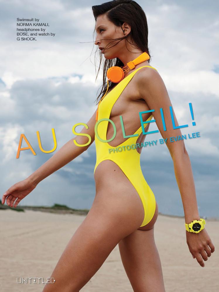 GEORGINA Stojiljkovic for UNTITLED magazine, September 2019
