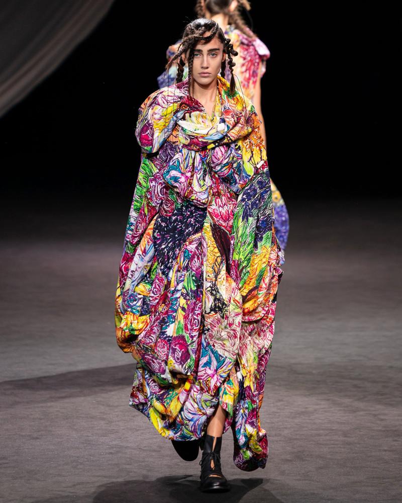 IVANA PESOVIC for YOHJI YAMAMOTO Spring 2020, Paris Fashion Week