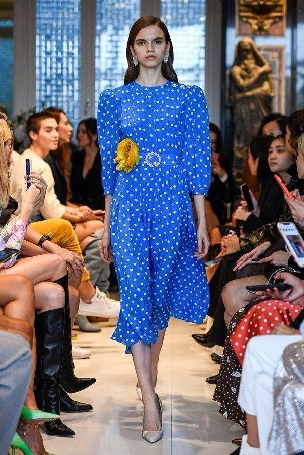 ANA KOJIC for ALESSANDRA RICH Spring 2020, Paris fashion Week