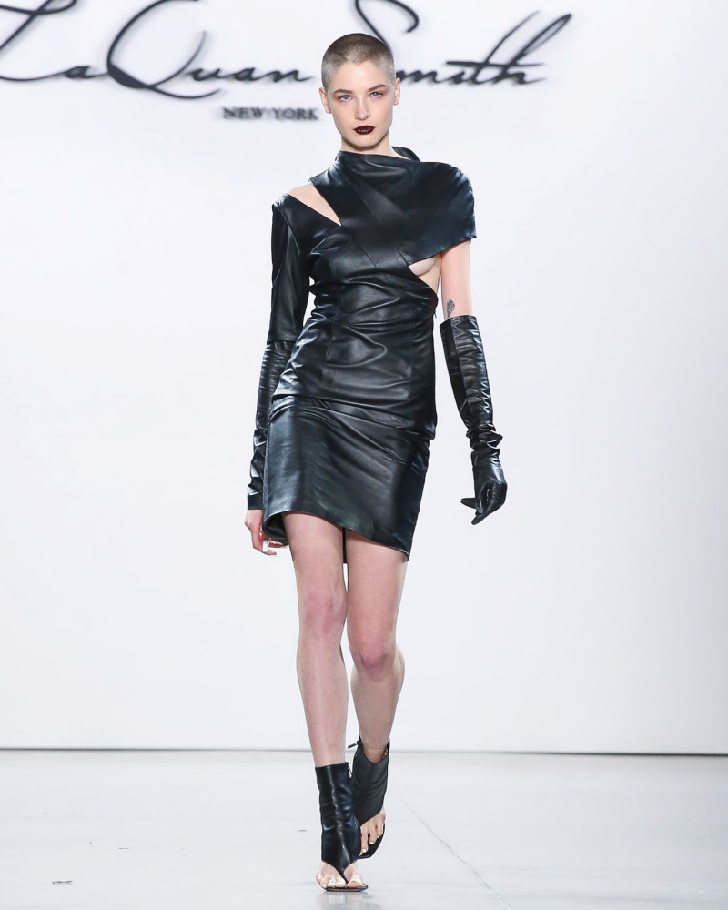 JOANNA KRNETA for LAQUAN SMITH, Fall 2020 New York
