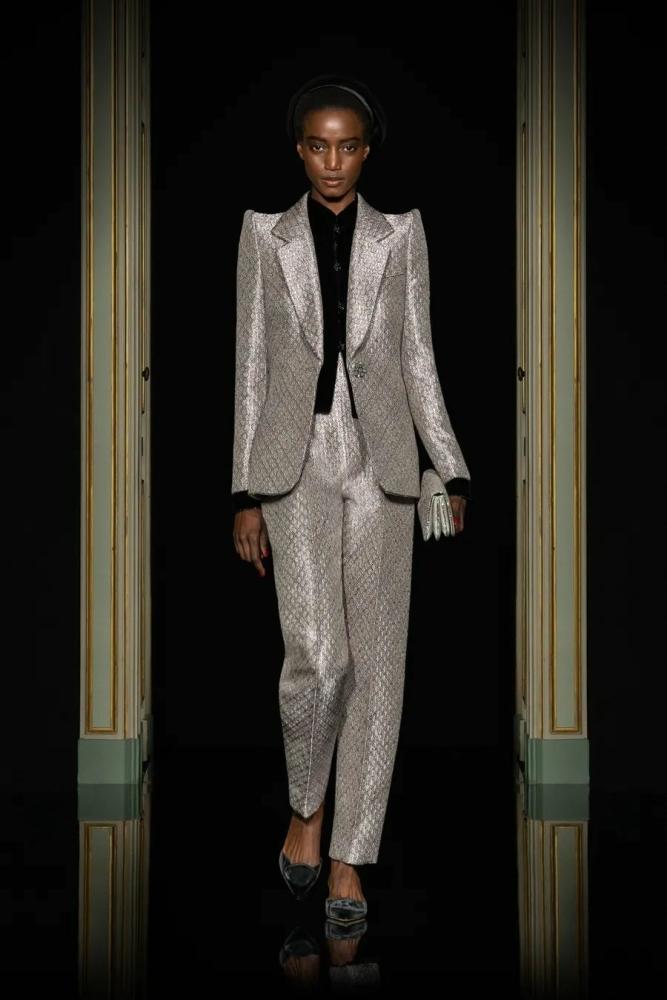 ROSALIE for GIORGIO ARMANI, Privè Couture SS21