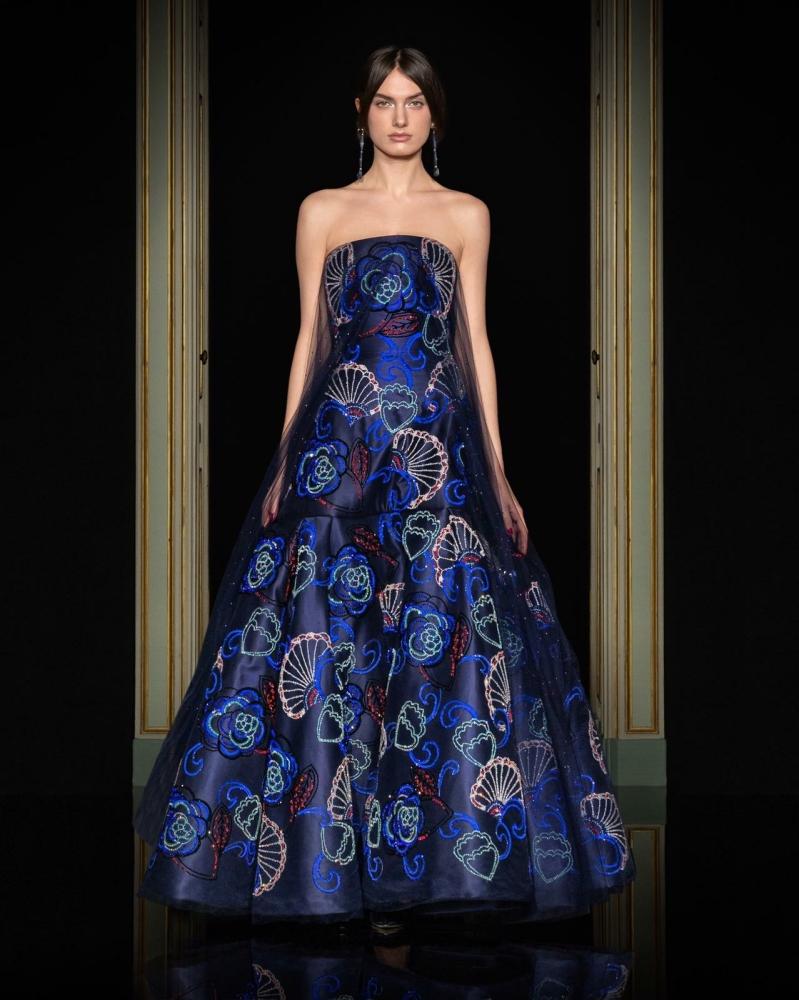 MILI for GIORGIO ARMANI, Privè Couture SS21