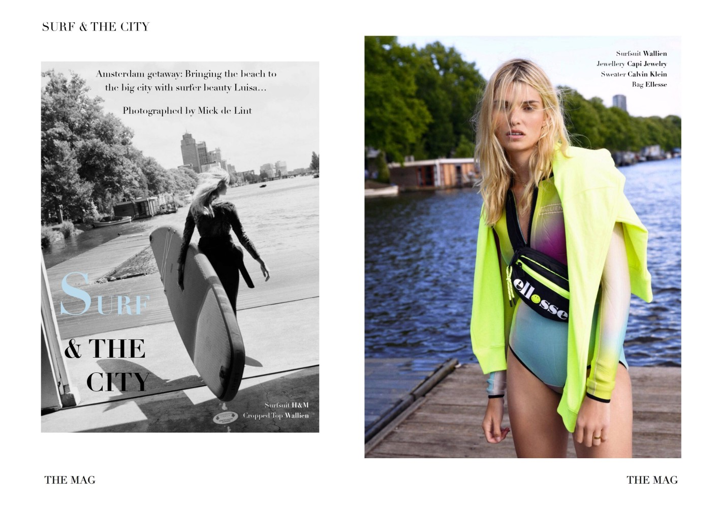 LUISA HARTEMA BY MICK DE LINT FOR THE MAG (SPECIAL) #SS20