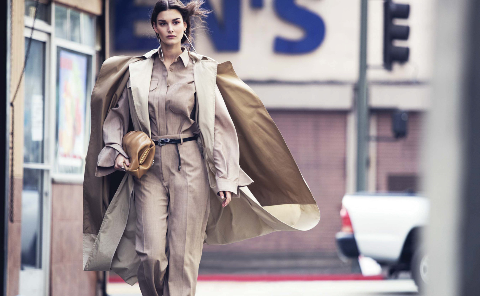 OPHELIE GUILLERMAND FOR ELLE USA FEBRUARY 2018