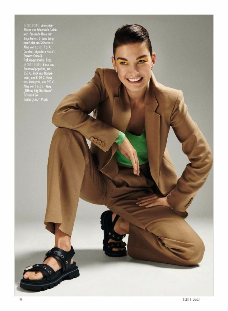 OPHELIE GUILLERMAND BY ALEX WALTL FOR