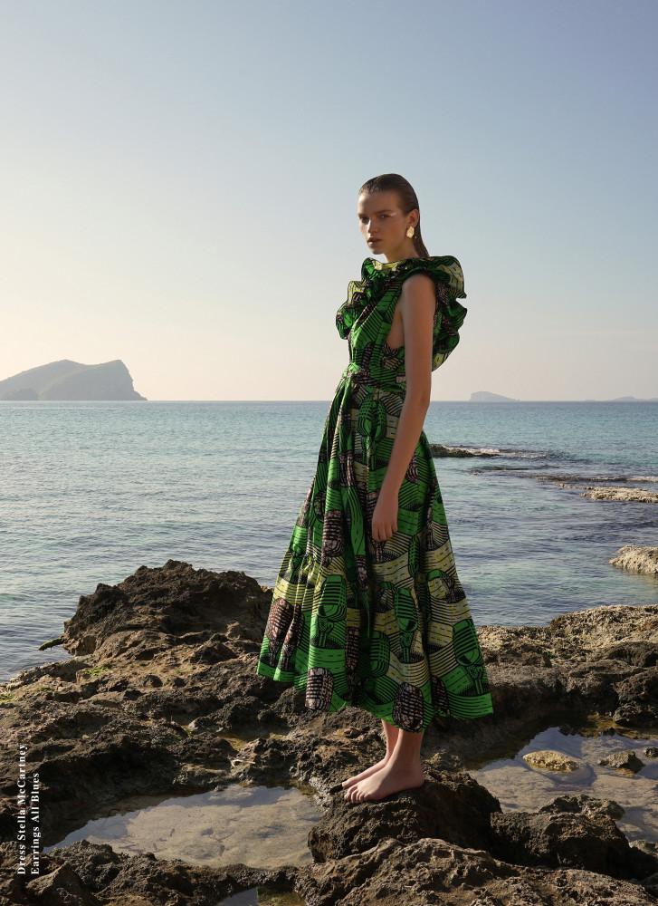EVA KLIMKOVA FOR ELLE SLOVAKIA MAY 2018