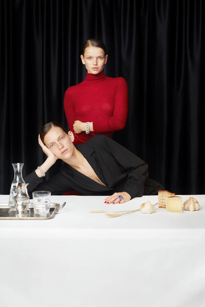 CAROLIN SÜNDERHAUF & MARIE-LOUISE WEDEL & MARILHÉA PEILLARD FOR L'OFFICIEL