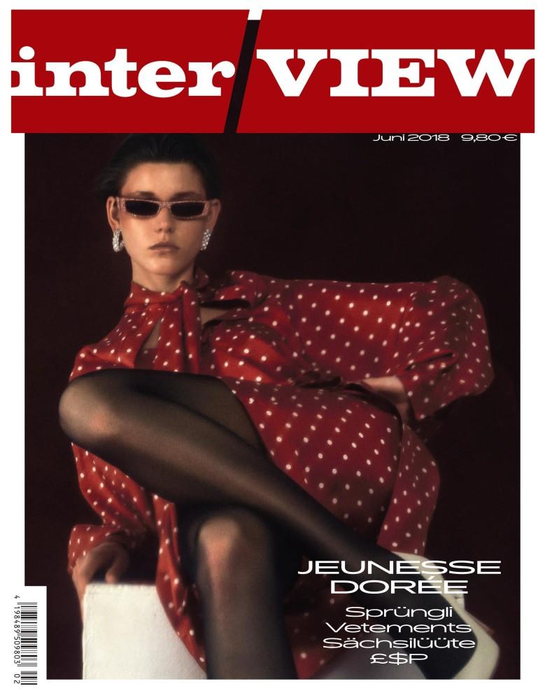 VIVIENNE ROHNER FOR INTERVIEW MAGAZINE GERMANY JUNE 2018