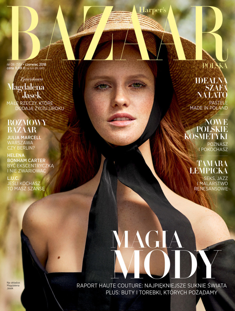 MAGDALENA JASEK FOR HARPERS BAZAAR JUNE 2018