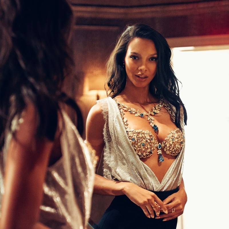 LAIS RIBEIRO FOR VICTORIAS SECRET FANTASY BRA 2017