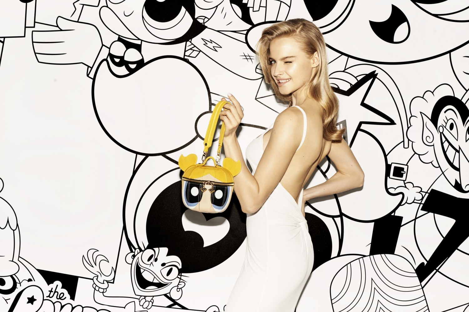 KAROLINA PISAREK FOR SABRINA PILEWICZ X THE POWER PUFF GIRLS