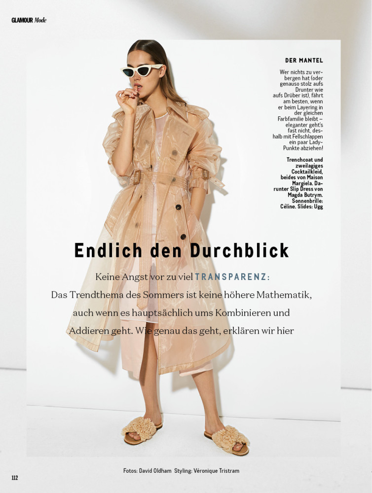 JULIA JAMIN FOR GLAMOUR GERMANY MAY 2018